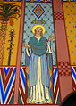 Saint Aloysius Catholic Church (Bowling Green, Ohio) - sanctuary mural, Spes.jpg