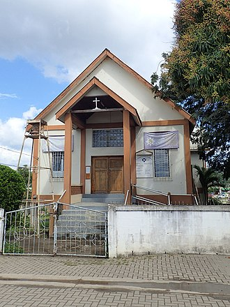 St. Andrew's Anglican Church (San Ignacio) - St. Andrew's Anglican Church in 2017