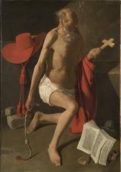 Georges de La Tour: The Penitent St Jerome