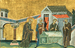 Saint Maruthas, Bishop of Martyropolis in Mesopotamia (Menologion of Basil II).jpeg