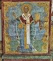 Saint Nicholas of Myra. Fresco at the church of St. Nicholas Nadein, west gallery.jpg