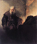 Saint Paul at his Writing-Desk, by Rembrandt.jpg