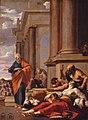 Saint Pierre guérissant des malades de son ombre, par Laurent de La Hyre.jpg
