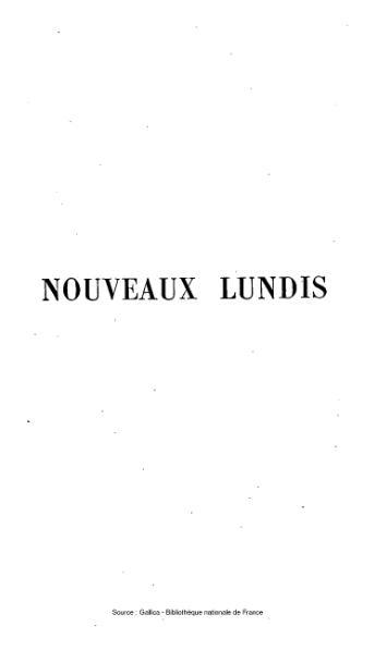 File:Sainte-Beuve - Nouveaux lundis, tome 3.djvu