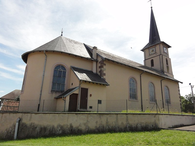 Sainte-Pôle (M-et-M) église