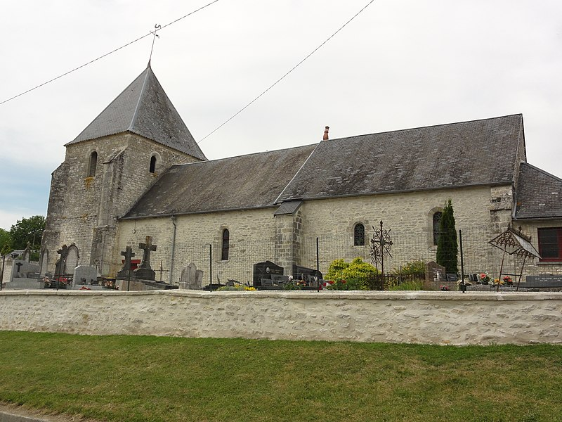 Sainte-Preuve (Aisne) église