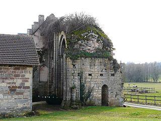 Dalon Abbey former Cistercian monastery in Dordogne, France