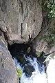 Saklıkent Kanyonu Karstik kaynak Karst spring.jpg