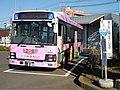 Sakuragawa City Bus at Sakuragawa city hall Iwase branch 01.jpg