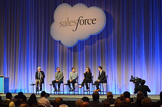 Salesforce.com - A discussion panel at Salesforce's Customer Company Tour event that focused on customer relationship management