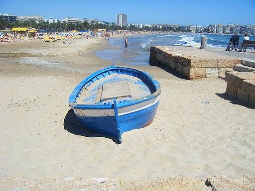 Salou Beach Boat