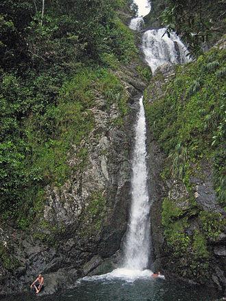 Orocovis, Puerto Rico - Image: Salto Doña Juana, Orocovis, Puerto Rico