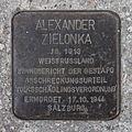 Salzburg - Elisabeth-Vorstadt - Südtirolerplatz Stolpersteine Hauptbahnhof - Alexander Zielonka.jpg