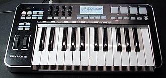 MIDI keyboard - Samson Graphite 25