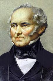 Shipping magnate Sir Samuel Cunard.