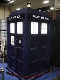 Il TARDIS al San Diego Comic-Con del 2011