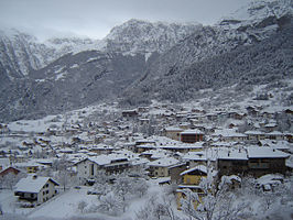 San Lorenzo in de winter