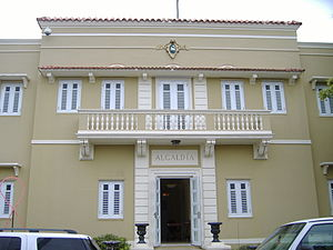 San Lorenzo, Puerto Rico - San Lorenzo's town hall.