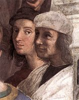 Raphael Self Portrait With A Friend