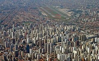 São Paulo–Congonhas Airport - Aerial view