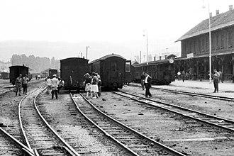 Narrow-gauge railways in Bosnia and Herzegovina - Sarajevo railway station