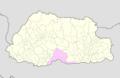 Sarpang Bhutan location map.png
