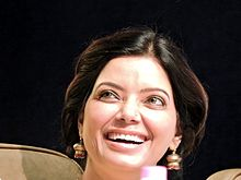 Satinder Satti a popular TV anchor, and Punjab Arts Council chairperson ,Punjab,India 01.jpg