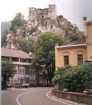 Schachenstein Castle - Image: Schachen 2