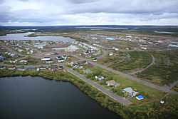 Skyline of Schefferville
