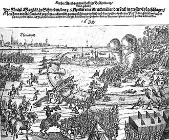 Battle of Rain - Image: Schlacht bei Rain am Lech 1632