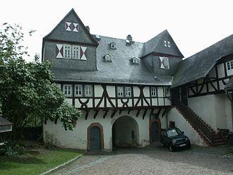 Philip IV, Count of Nassau-Weilburg -  The gatehouse of Neuweilnau Castle was built during Philip's reign