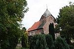 Schobüll (Husum), church on the sea and churchyard-1.jpg