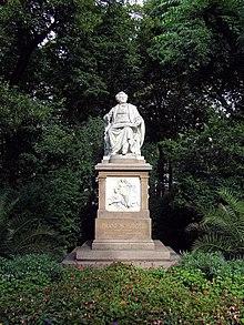The Schubert Denkmal (Source: Wikimedia)