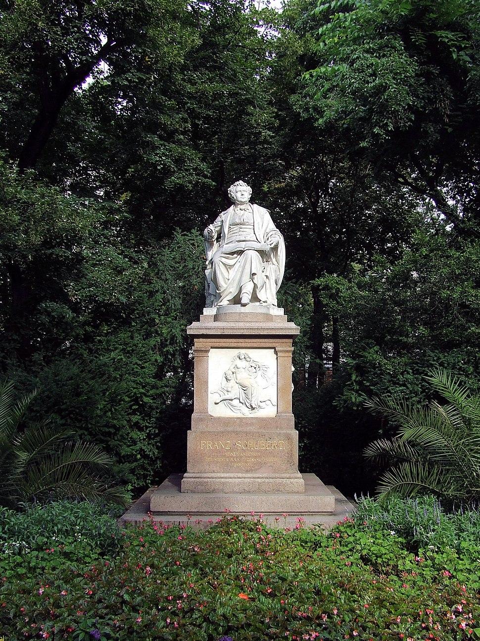 Schubert Denkmal Stadtpark Wien