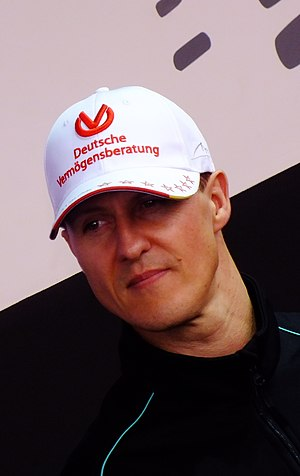 Michael Schumacher - Schumacher at the 2012 Chinese Grand Prix