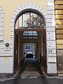 Schumy house (1891). Gate. - 18 Pauler Street, Budapest.JPG