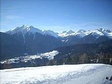 Scorcio sulla Catena delle Maddalene (Alpi della Val di Non)