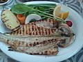 Seabass (levrek) and a grilled potato.jpg