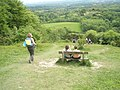 Seat on Shoulder of Mutton Hill - geograph.org.uk - 1324428.jpg