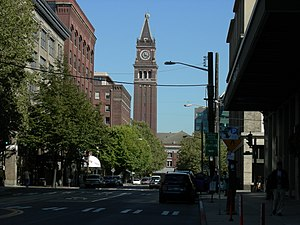 King Street Station seen from west along King ...