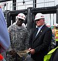Secretary Harvey and Brig. Gen. Crear, Oct. 2 2006, in New Orleans.jpg