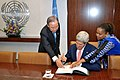 Secretary Kerry Signs a Guestbook at the United Nations.jpg