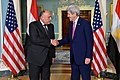 Secretary Kerry and Egyptian Foreign Minister Shoukry Shake Hands After Addressing Reporters in Washington (25536738204).jpg
