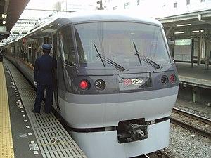 """Seibu Railway - Seibu 10000 series """"Chichibu"""" Limited express train"""