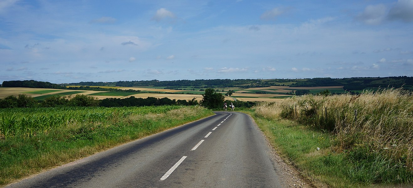 A la croisée du chemin qui mène à Notre-Dame du Mont Nielles-lès-Bléquin et de la D191 .- Seninghem Pas-de-Calais Hauts-de-France