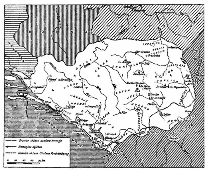 Serbia under Stefan Nemanja and Stefan the First-Crowned