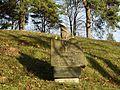 Seredžius. Žydų kapinių akmuo.JPG