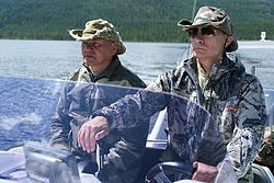 Sergey Shoigu and Vladimir Putin 20 July 2013 02.jpeg