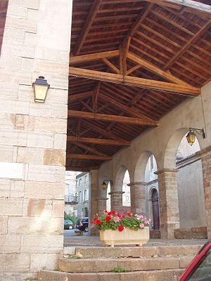 La Bastide-de-Sérou - The covered market