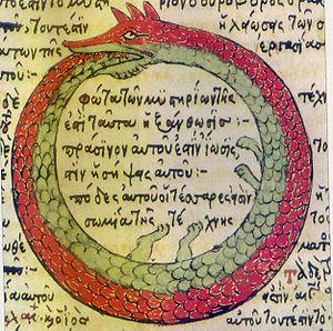 Ouroboros - Image: Serpiente alquimica